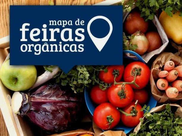 Aplicativo mostra as feiras de orgânicos mais próximas
