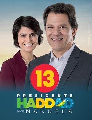 Pela democracia, pelo amor: EITA é Haddad13
