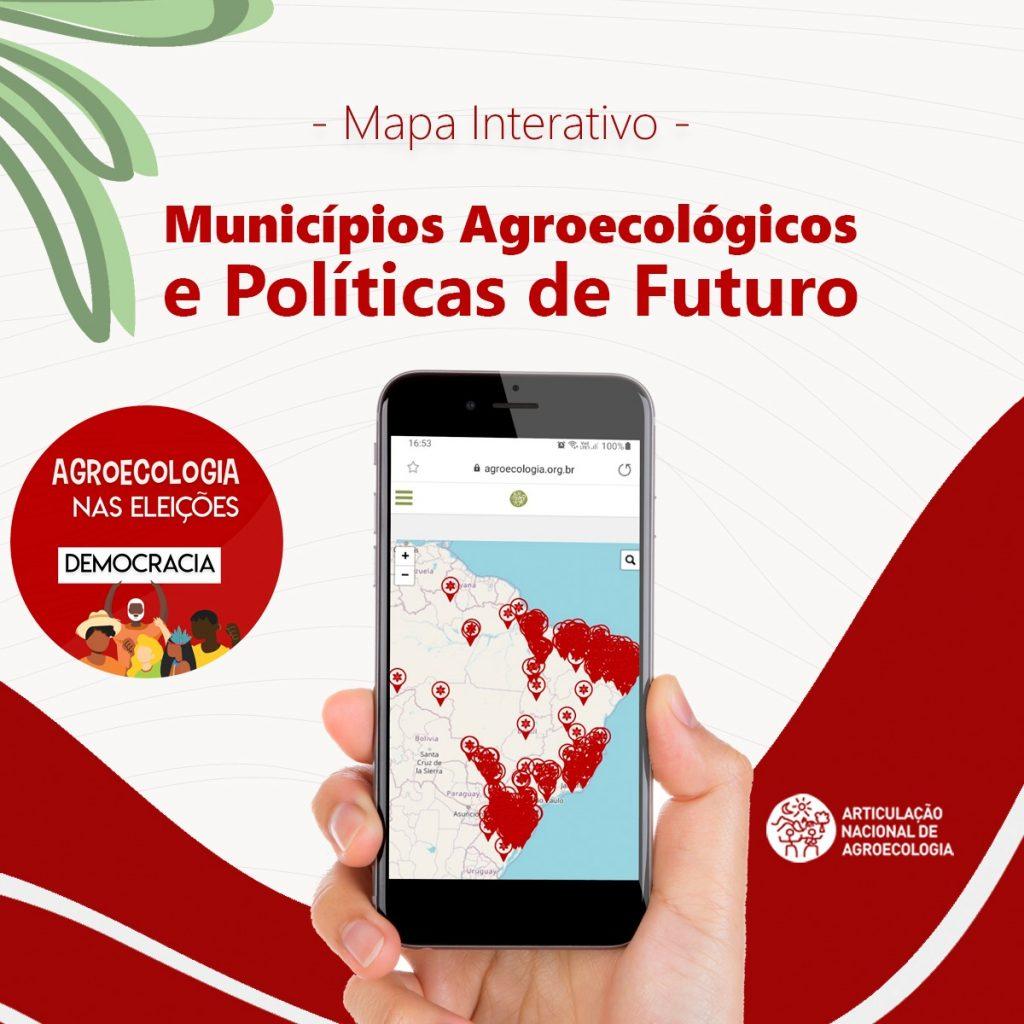 EITA implementa mapa interativo da Pesquisa 'Municípios Agroecológicos e Políticas de Futuro'